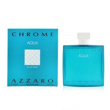 Chrome Aqua Eau De Toilette Spray  100ml/3.4oz