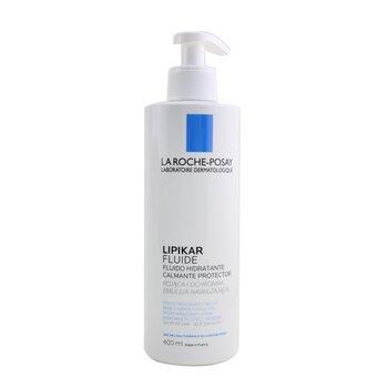 Lipikar Fluide - Soothing Protecting Fluid (Fragrance-Free)  400ml/13.5oz