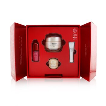 Smooth Skin Sensations Set: Benefiance Day Cream SPF23 50ml + Ultimune Concentrate 10ml + Benefiance Smoothing Cream 15ml + Benefiance Eye Cream 5ml  4pcs