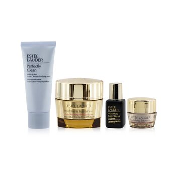 Firm+Glow Collection: Revitalizing Supreme+ Creme+ ANR Multi Recovery+ Revitalizing Supreme+ Eye+ Perfectly Clean  4pcs