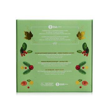 The Beauty Essentials Set: Beauty Elixir 100ml+ Instant Foaming Cleanser 50ml+ Glycolic Peel 15ml  3pcs