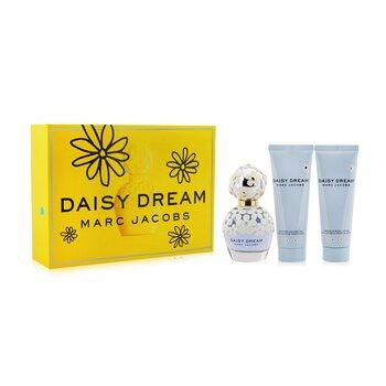 Daisy Dream Coffret: Eau De Toilette Spray 50ml/1.7oz + Luminous Body Lotion 75ml/2.5oz + Uplifting Shower Gel 75ml/2.5oz  3pcs