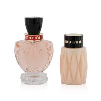 Twist Coffret: Eau De Parfum Spray 100ml/3.4oz + Body Lotion 100ml/3.4oz  2pcs