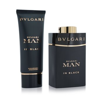In Black Coffret: Eau De Parfum Spray 100ml/3.4oz + After Shave Balm 100ml/3.4oz + Pouch  2pcs+Pouch