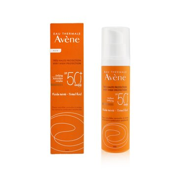 Very High Protection Unifying Tinted Fluid SPF 50+ - For Normal to Combination Sensitive Skin  50ml/1.7oz
