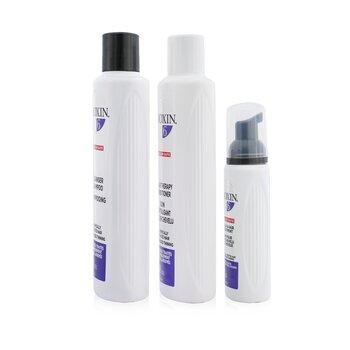 3D Care System Набор 6 - для Химически Обработанных Волос, Прогрессирующее Выпадение (Коробка Слегка Повреждена) 3pcs