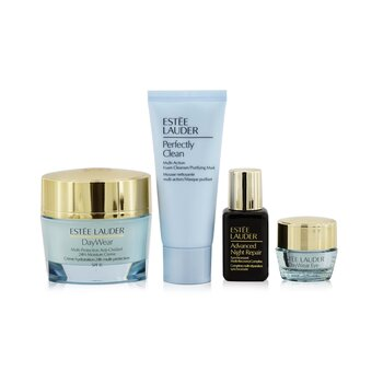 Protect+Hydrate Collection: DayWear Moisture Creme SPF 15 50ml+ ANR Multi Recovery 15ml+ DayWear Eye 5ml+ Perfectly Clean 30ml 4pcs