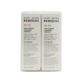 Bobbi Brown Remedies Skin Clarifier No 75 Duo Set  2x14ml/0.47oz