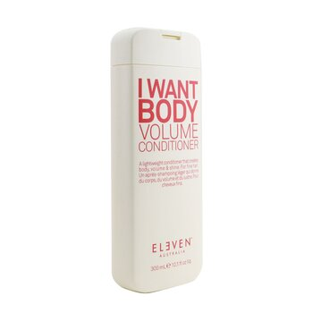 I Want Body Volume Conditioner  300ml/10.1oz
