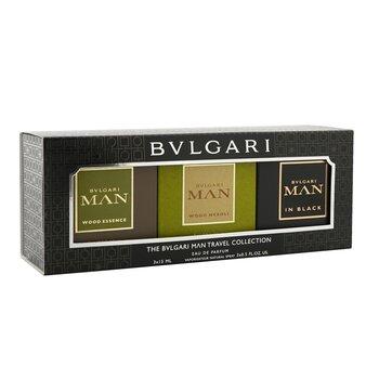 Man Coffret: In Black Eau De Parfum Spray + Wood Neroli Eau De Parfum Spray + Wood Essence Eau De Parfum Spray  3x15ml/0.5oz