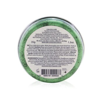 Green Pomade (Grease Medium Hold)  35g/1.3oz