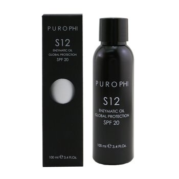 S12 Enzymatic Oil Global Protection SPF 20 (Water Resistant)  100ml/3.4oz