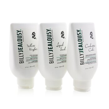Face3Some Kit: Face Moisturizer 88ml + Exfoliating Facial Cleanser 88ml + Gentle Daily Facial Cleanser 88ml (Unboxed)  3pcs