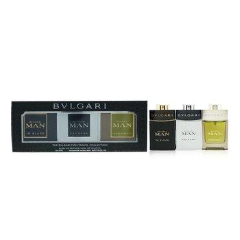 Man Coffret: In Black Eau De Parfum Spray + Extreme Eau De Toilette Spray + Wood Essence Eau De Parfum Spray  3x15ml/0.5oz