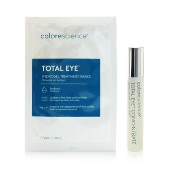 Total Eye Concentrate Kit: Concentrate 8ml + Hydrogel Treatment Masks 12pairs  13pcs