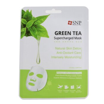 Green Tea Supercharged Mask (Detox) (Exp. Date: 08/2021)  10x25ml/0.84oz