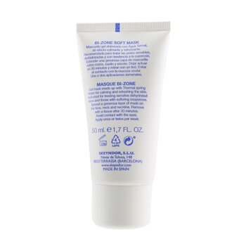 Aquatherm Bi-Zone Soft Mask - Eye Contour & Face (For Sensitive Dehydrated Skin)  50ml/1.7oz