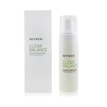 Clear Balance Pure Cleansing Foam (For Oily & Sebaceous Skin)  150ml/5.1oz