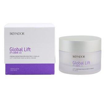 Global Lift Lift Contour Face & Neck Cream (For Dry Skin)  30ml/1oz