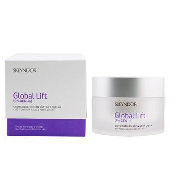 Global Lift Contour Face & Neck Cream - Normal To Combination Skin  50ml/1.7oz