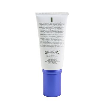 Power Oxygen City Pollution Block Cream + O2 (For Normal To Dry Skin)  50ml/1.7oz