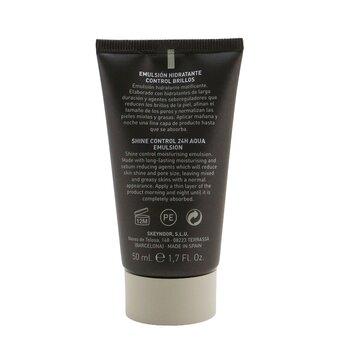 Men Shine Control 24H Aqua Emulsion - Moisturize & Prevents Shiny Skin  (For Normalise Mixed & Oily Skins)  50ml/1.7oz
