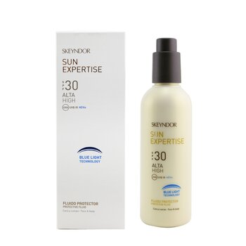 Sun Expertise Protective Face & Body Fluid SPF 30 - With Blue Light Technology (For All Skin Types & Water-Resistant)  200ml/6.8oz