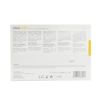 Uniqcure Instant Lifting Concentrate (For Slack Skin & Skin With A A Tired Appearance)  7x2ml/0.068oz