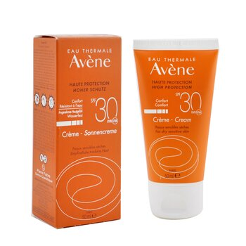 High Protection Comfort Cream SPF 30 - For Dry Sensitive Skin  50ml/1.7oz