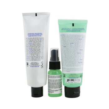 Shave Essentials 3-Pieces Kit: Shave Tonic 30ml + Beard Line-Up Shave Gel 100ml + After Shave Balm 120ml  3pcs