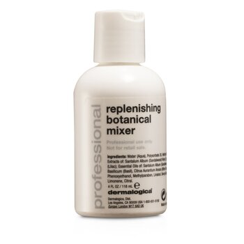 Replenishing Botanical Mixer - Salon Size (Packaging Slightly Defected)  118ml/4oz