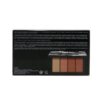 Hot Fix Cheek Palette (1x Highlighting Blush Powder, 3x Blush)  4x5.5g/0.19oz