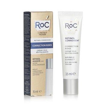 Retinol Correxion Wrinkle Correct Eye Reviving Cream - Advanced Retinol With Hyaluronic Acid  15ml/0.5oz