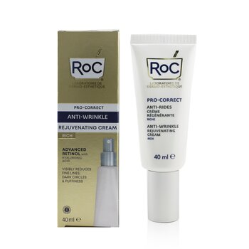 Pro-Correct Anti-Wrinkle Rejuvenating Rich Cream - Advanced Retinol With Hyaluronic Acid  40ml/1.35oz
