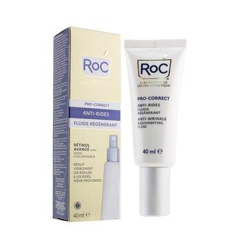 Pro-Correct Fluido Rejuvenecedor Anti-Arrugas - Retinol Avanzado Con Ácido Halurónico  40ml/1.35oz