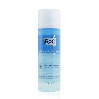 Double Action Eye Make-Up Remover - Removes Waterproof Make-Up (Suitable For The Sensitive Eye Area)  125ml/4.23oz