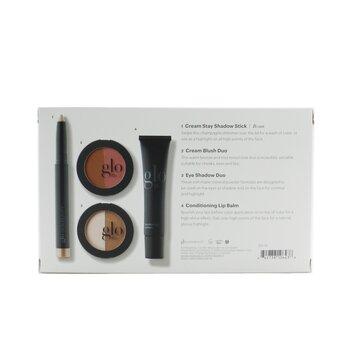 In The Nudes (Shadow Stick + Cream Blush Duo + Eye Shadow Duo + Lip Balm)  4pcs+1bag