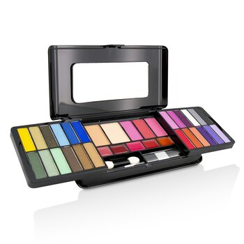 MakeUp Kit Deluxe G2215 (24x Eyeshadow, 3x Blusher, 2x Pressed Powder, 5x Lipgloss, 2x Applicator) (Exp. Date 07/2021)  -