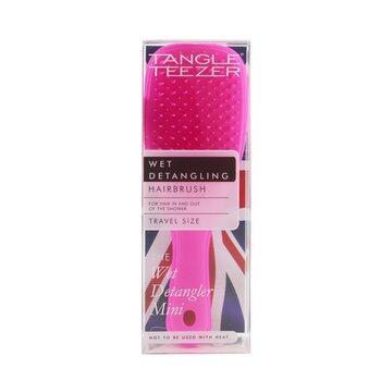 The Wet Detangling Mini Hair Brush - # Pink Sherbert (Travel Size)  1pc