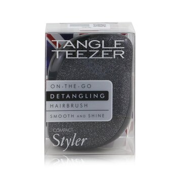 Compact Styler On-The-Go Detangling Hair Brush - # Onyx Sparkle  1pc