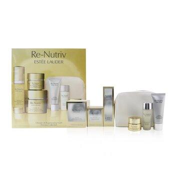 Re-Nutriv Ultimate Lift Regenerating Youth Precious Collection: Creme 50ml+Serum 30ml+Eye Creme 15ml+Lotion 30ml+Cleanser....  6pcs+1bag