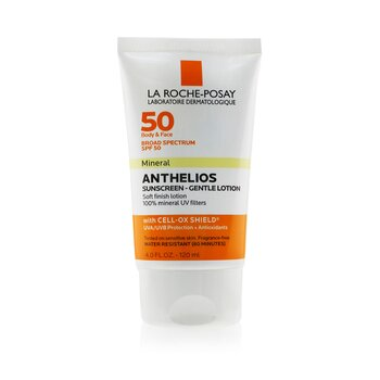Anthelios 50 Mineral Sunscreen - Gentle Lotion For Face & Body SPF 50 120ml/4oz