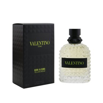 Valentino Uomo Born In Roma Yellow Dream Eau De Toilette Spray  50ml/1.7oz