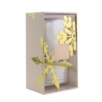 Iconic Cleanse Ornament סט נסיעות: Cleanser 20ml/0.7oz + Muslin Cloth 1pc  2pcs