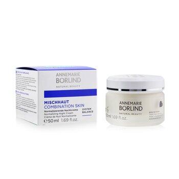 Combination Skin System Balance Normalizing Night Cream - For Combination Skin  50ml/1.69oz