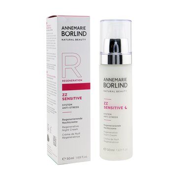 ZZ Sensitive System Anti-Stress Regenerative Night Cream - For Sensitive Skin  50ml/1.69oz
