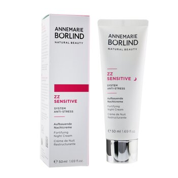 ZZ Sensitive System Anti-Stress Fortifying Night Cream - For Sensitive Skin  50ml/1.69oz