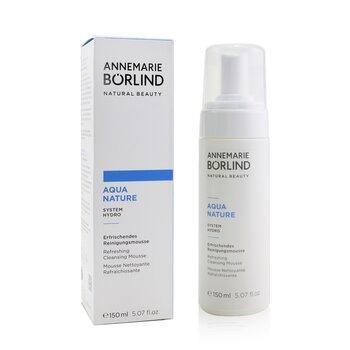 Aquanature System Hydro Refreshing Cleansing Mousse - For Dehydrated Skin  150ml/5.07oz