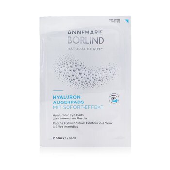 Hyaluronic Eye Pads with Immediate Results  6x2pads