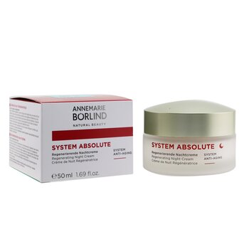 System Absolute System Anti-Aging Regenerating Night Cream - For Mature Skin  50ml/1.69oz
